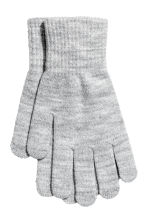 3-pack gloves - Black/Grey - Kids | H&M CN 2