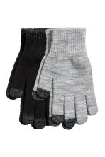 Smartphone gloves - Black -  | H&M 1