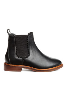 Leather jodhpur boots