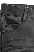 Pantaloni biker con rinforzi - Nearly black -  | H&M IT 4