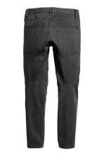 Knee-patch biker trousers - Nearly black - Kids | H&M 3