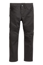 Biker Pants - Black -  | H&M CA 2