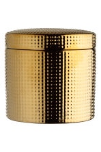 Ask i stengods - Guld - Home All | H&M FI 1
