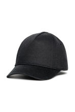Cotton twill cap - Black -  | H&M 1