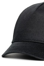 Cotton twill cap - Black -  | H&M 4