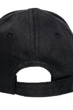 Cotton twill cap - Black -  | H&M 3