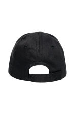 Cotton twill cap - Black -  | H&M 2