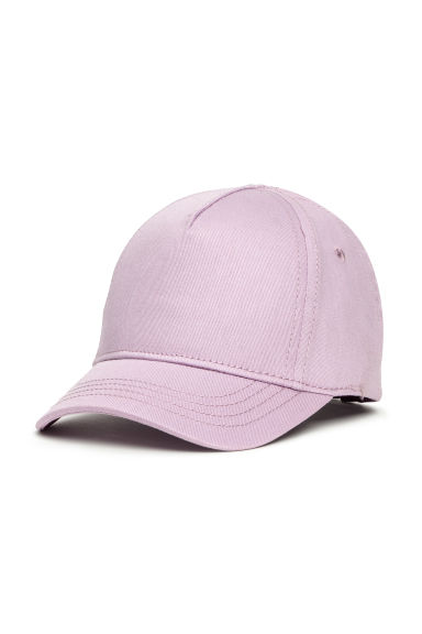 Cotton twill cap - Purple - Kids | H&M CN