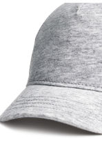Cotton twill cap - Light grey marl - Kids | H&M 2