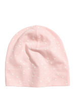 2-pack jersey hats - Pink/Light grey -  | H&M 2