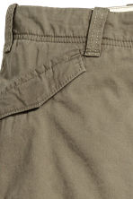 Lined cargo trousers - Khaki green - Kids | H&M CN 3