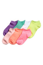 7-pack trainer socks - Light pink - Kids | H&M 1