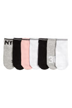 7-pack trainer socks - Grey/New York - Kids | H&M CA 2