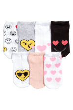 7-pack trainer socks - White/Emoji - Kids | H&M 2