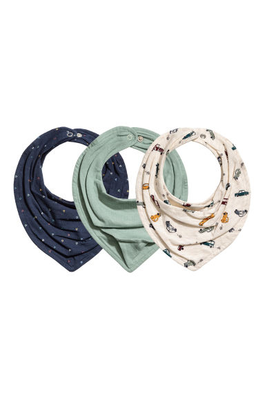 3-pack triangular scarves - Mole -  | H&M 1
