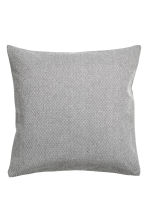 Cotton cushion cover - Anthracite grey - Home All | H&M CA 1
