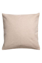 Cotton cushion cover - Beige - Home All | H&M CA 1