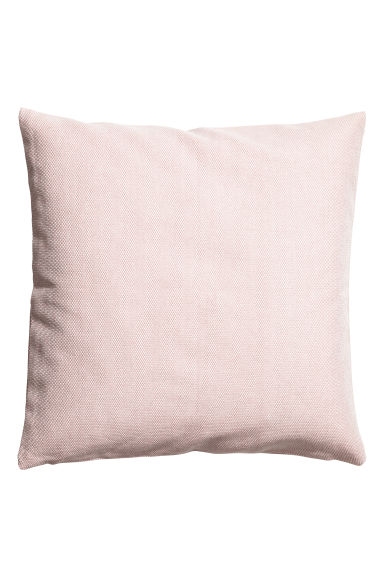 Cotton cushion cover - Light pink - Home All | H&M GB 1