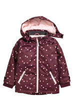 戶外運動外套 - Burgundy/Stars - Kids | H&M 2