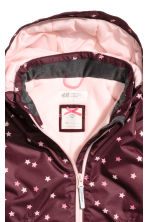 戶外運動外套 - Burgundy/Stars - Kids | H&M 4