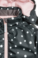 Giacca outdoor - Nero/pois - BAMBINO | H&M CH 4