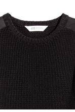 Knitted jumper - Black -  | H&M 3