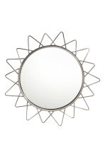 Round mirror - Silver - Home All | H&M CN 1