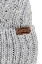 Cable-knit hat - Grey - Kids | H&M CN 2