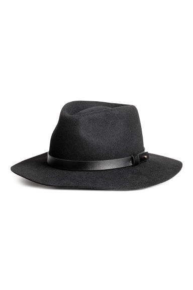 Felt hat - Black - Ladies | H&M CN