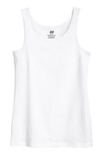 Jersey vest top - White - Kids | H&M 1