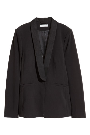 Fitted Jacket - Black - Ladies | H&M CA