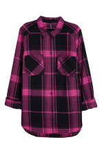 Cerise/Checked