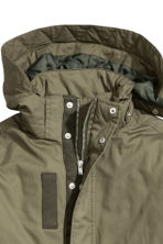 Cotton parka - Khaki green - Kids | H&M 3