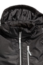 Padded outdoor jacket - Black - Kids | H&M CN 5