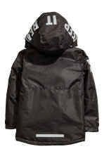 Padded outdoor jacket - Black - Kids | H&M CN 3