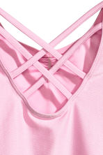 Leotard - Light pink - Kids | H&M 3