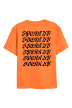Printed T-shirt - Orange - Men | H&M CN 3