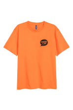 Printed T-shirt - Orange - Men | H&M CN 2