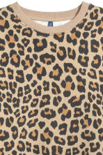 Printed sweatshirt - Leopard print - Men | H&M GB 3