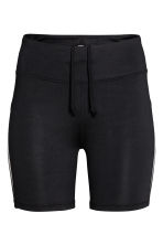 Short running tights - Black - Ladies | H&M IE 2