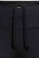 Short running tights - Black - Ladies | H&M IE 4