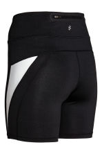 Short running tights - Black - Ladies | H&M IE 3