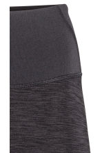 Yoga tights - Dark grey marl - Ladies | H&M 3