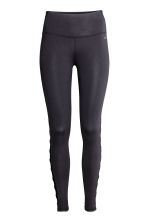 Yoga tights - Black - Ladies | H&M IE 2