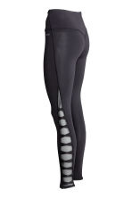 Yoga tights - Black - Ladies | H&M IE 3