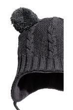 Fleece-lined hat - Dark grey -  | H&M 2