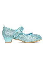 Glittery Dress-up Shoes - Turquoise/Frozen - Kids | H&M CA 2