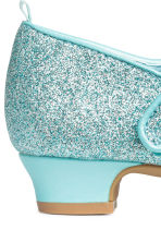 Glittery dressing up shoes - Turquoise/Frozen - Kids | H&M CN 3