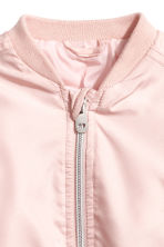 Satin bomber jacket - Powder pink - Kids | H&M 2