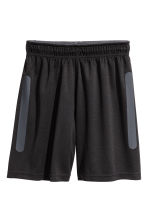 Sports shorts - Black -  | H&M 2